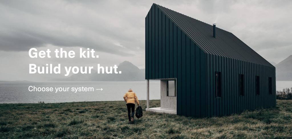 Ein Holzhaus zum selber bauen