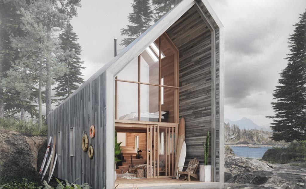 ein holzhaus zum selber bauen h gi riatsch architektur. Black Bedroom Furniture Sets. Home Design Ideas
