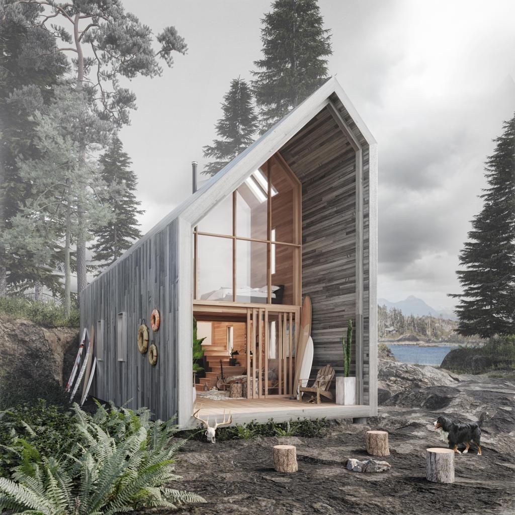Ein Holzhaus Zum Selber Bauen Hagi Riatsch Architektur
